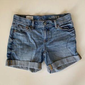Gap Sexy Boyfriend Shorts Size 24 Cuffed Hem